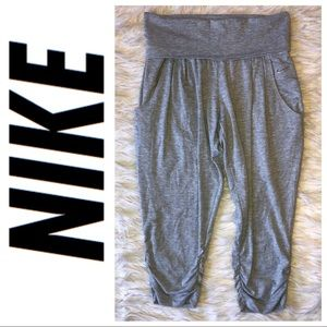 Nike gray harem pants